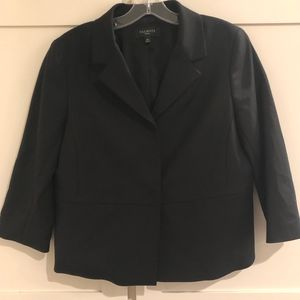 🍉Talbots Black Jacket w/ 3/4 sleeves, 10P